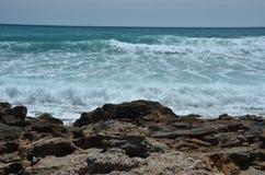 Marea del mare di Almeria Immagine Stock Libera da Diritti