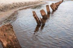Marea dell'alta marea Fotografia Stock Libera da Diritti