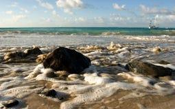 Marea dell'oceano Immagini Stock Libere da Diritti