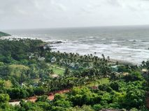 Marea di Goan Fotografie Stock Libere da Diritti