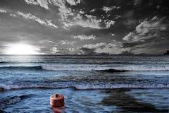 Marea negra imagen de archivo