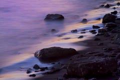Marea púrpura fotos de archivo