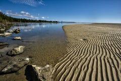 Marea uscente Yule Point Fotografia Stock