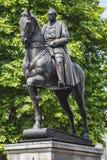 Marechal de campo Earl Haig Statue em Londres fotos de stock