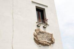 Marechiaro-Fenster stockbilder