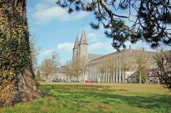 maredsous abbaye de Royaltyfri Fotografi