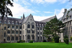 Maredsous abbey Royalty Free Stock Photo