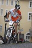 Marek Rauchfuss - Prague Stairs race 2010 Royalty Free Stock Photo
