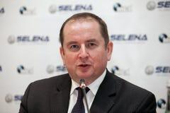 Marek Szczygiel. His Excellency, Ambassador Extraordinary and Plenipotentiary of the Poland in Romania, Marek Szczygiel Royalty Free Stock Photo
