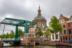 The Marekerk church in Leiden Stock Images
