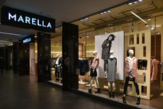 Marella brand store Royalty Free Stock Images