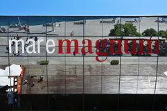 Maremagnum在巴塞罗那,西班牙 免版税库存图片