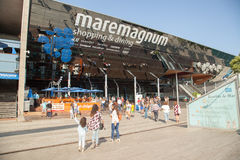 Maremagnum in Barcelona, Spain stock photo