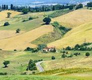 Maremma (托斯卡纳,意大利) 库存图片