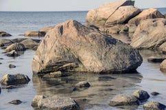 Mares calmos Foto de Stock