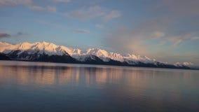 Mares de calma em Alaska vídeos de arquivo