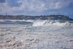 Mares potentes pesados Fotos de archivo