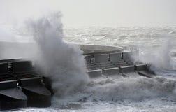 Mares tempestuosos Fotos de archivo libres de regalías