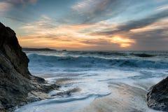 Mares tempestuosos Fotografía de archivo