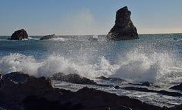 Mares tempestuosos Foto de archivo
