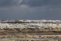 Mares tempestuosos Fotografía de archivo libre de regalías