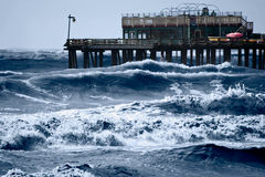Mares tormentosos foto de stock royalty free