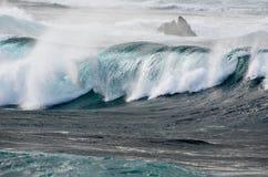 Mares tormentosos Fotografia de Stock