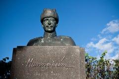 Maresciallo Mannerheim Statue Immagini Stock