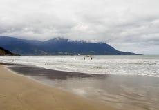 Maresias strand, Brasilien fotografering för bildbyråer