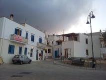 Maretimo, Sycylijska wyspy burza Zdjęcia Royalty Free