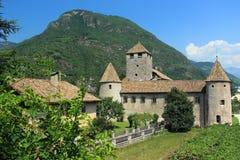 Maretsch castle in Bolzano Royalty Free Stock Photo