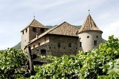Maretsch castle of Bolzano in South Tyrol Stock Photos