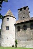 Maretsch castle of Bolzano in South Tyrol Stock Photography