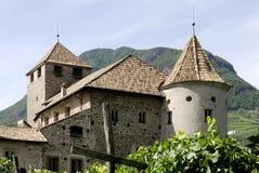 Maretsch castle of Bolzano in South Tyrol Royalty Free Stock Photos