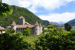 Maretsch kasztel, Bolzano, Włochy obraz royalty free
