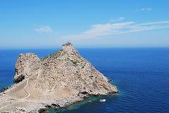 marettimo Сицилия замока Стоковое Изображение