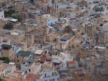 Marettimo roofs, Sicily, Italy Stock Image