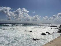 Marettimo szorstki morze Obraz Royalty Free