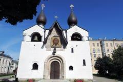 Marfo-Mariinskykloster der Gnade in Moskau Lizenzfreies Stockfoto