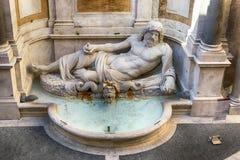 Marforio, marmeren standbeeld van de Oceaan Royalty-vrije Stock Fotografie