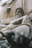 Marforio, Rome Italië Stock Foto's