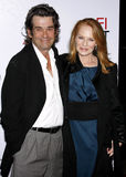 Marg Helgenberger and Alan Rosenberg Royalty Free Stock Photography
