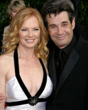 Marg Helgenberger,Alan Rosenberg Stock Photo