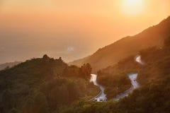 Margalla kullar Islamabad Pakistan Arkivbild