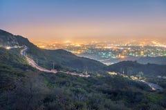 Margalla kulle Islamabad Pakistan Royaltyfri Bild
