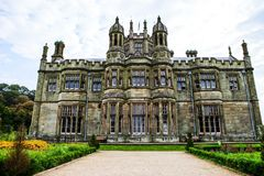 Margam Castle gothic mansion stock images