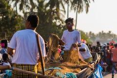 Margao, Goa/Ινδία 12 Φεβρουαρίου 2018: Εορτασμοί καρναβαλιού σε Goa, Ινδία Στοκ Εικόνες