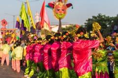 Margao, Goa/Ινδία 12 Φεβρουαρίου 2018: Εορτασμοί καρναβαλιού σε Goa, Ινδία Στοκ εικόνες με δικαίωμα ελεύθερης χρήσης