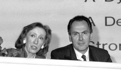 Margaret Beckett and Dr.Jack Cunningham Royalty Free Stock Photography