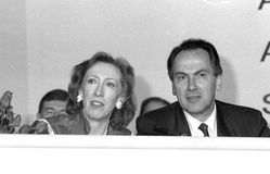 Margaret Beckett and Dr.Jack Cunningham Stock Photo